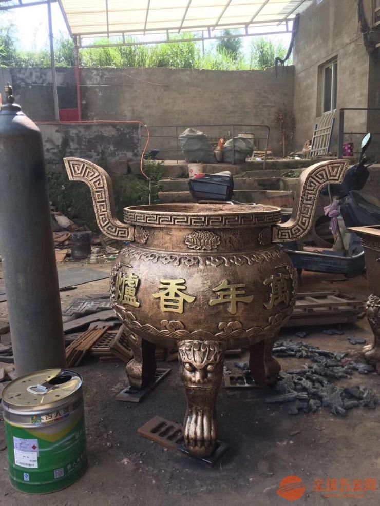 上海祠堂圆形铜香炉祠堂圆形平口香炉祠堂圆形带盖香炉出厂直销无中间商差价
