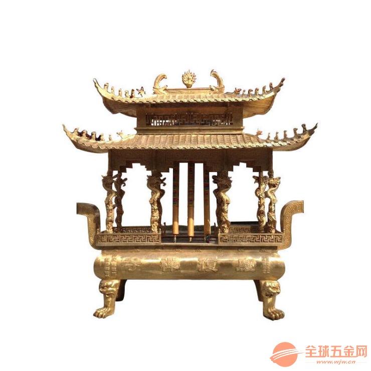 绍兴市铸造香炉厂家 铜香炉批发 香炉价格 寺庙铜铁香炉