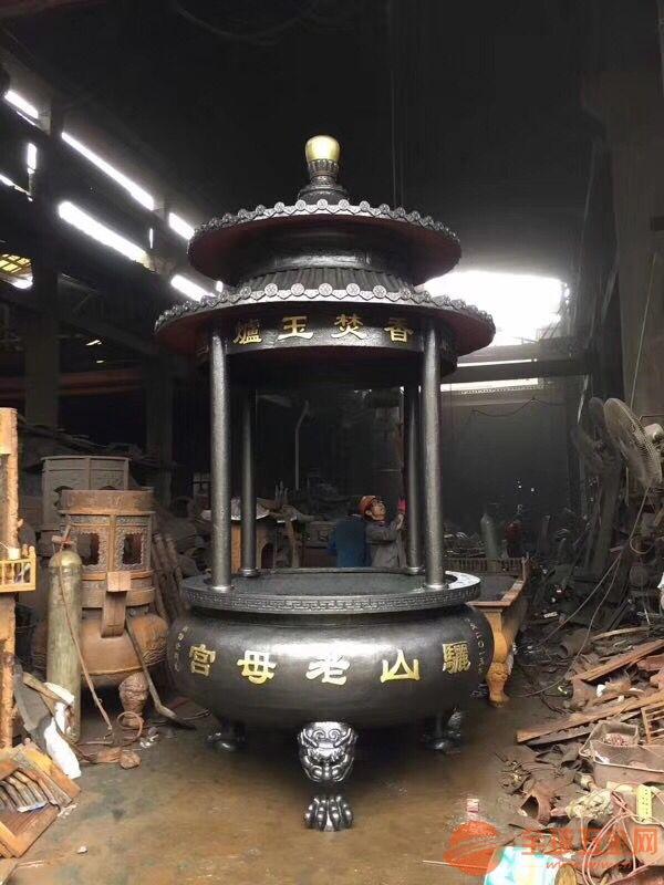 常州圆形六龙柱香炉数十年制造经验