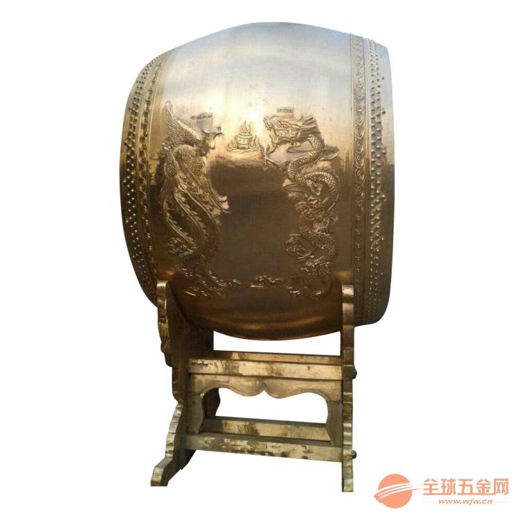 丽水寺庙青铜鼓黄铜鼓厂家样式多价格透明