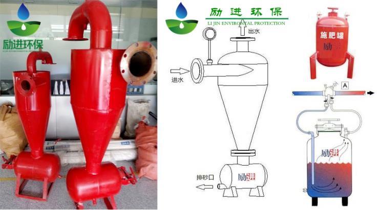 本溪農業噴灌網式離心式過濾器