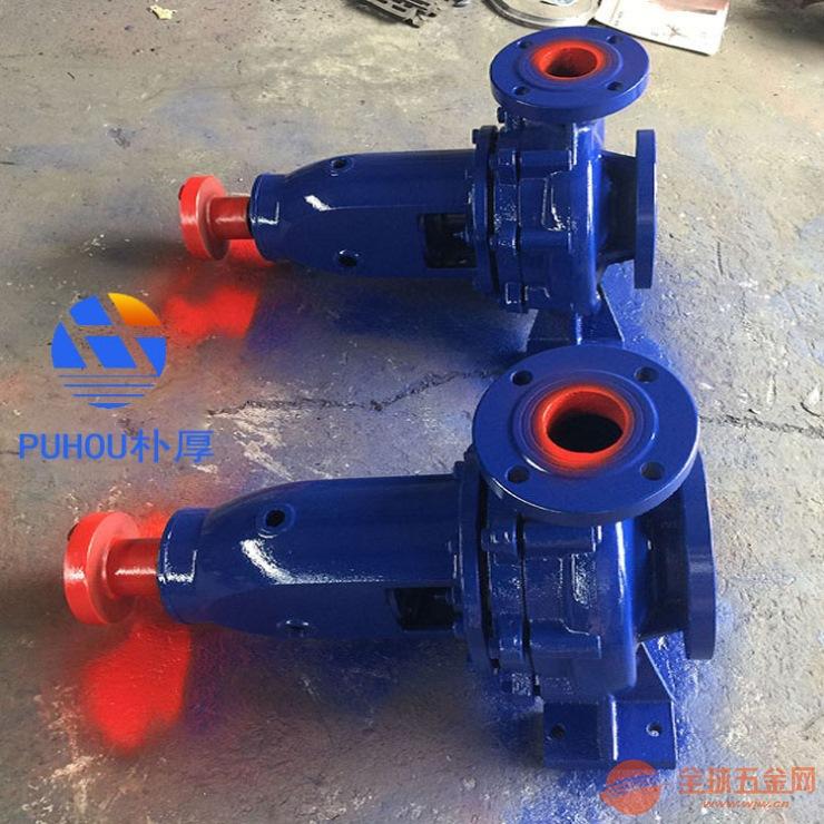 广东潮州IS100-65-200A直联自吸清水泵现货