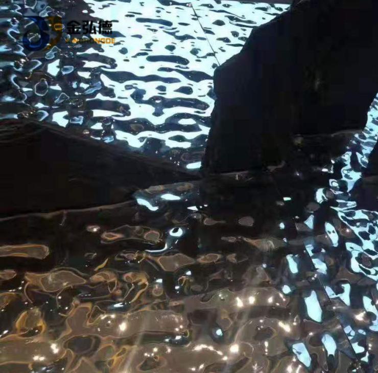 云南不锈钢水波纹板报价 装饰镜面冲压板