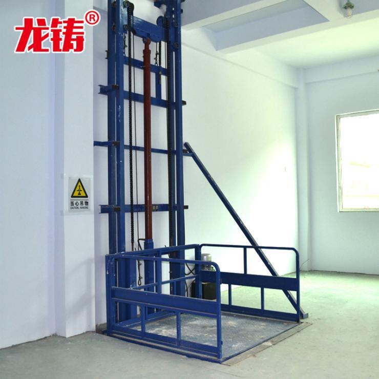 新聞吐魯番地區工廠倉庫液壓貨梯軌道式升降平臺加工廠