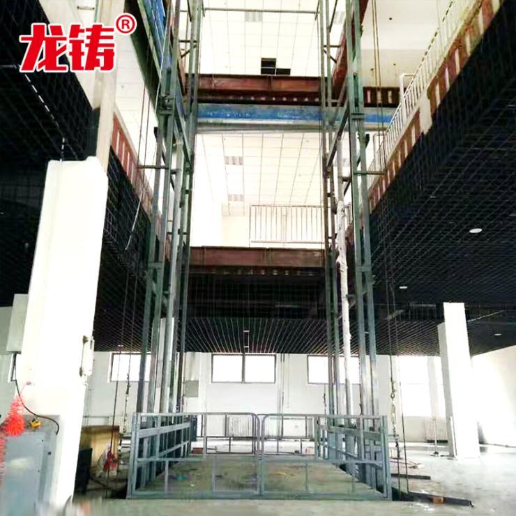 新聞亳州市導軌液壓式升降機導軌式液壓貨梯廠家價格