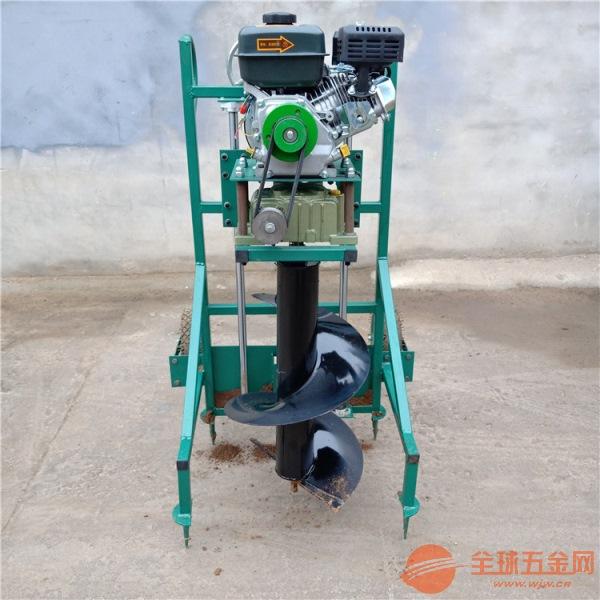 武汉销售大直径挖坑机四轮悬挂挖洞机