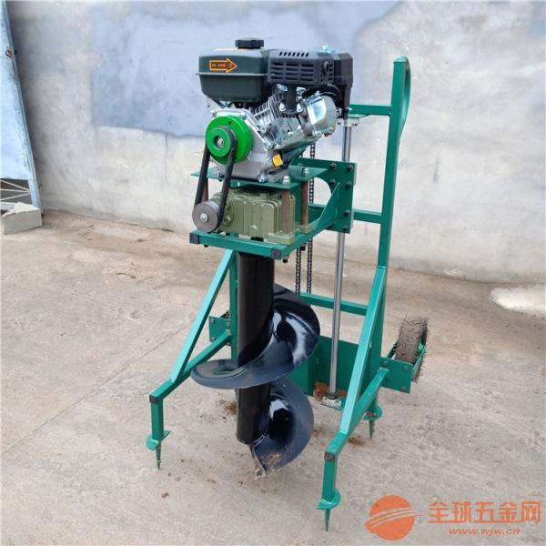 上海园林便携式打树坑机手推手摇挖窝机