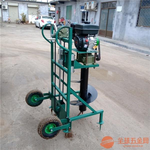惠州手推大直徑挖坑機大棚載桿挖坑機