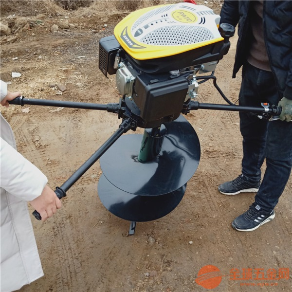 嘉興手提式汽油植樹挖坑機 加長的立柱打眼機