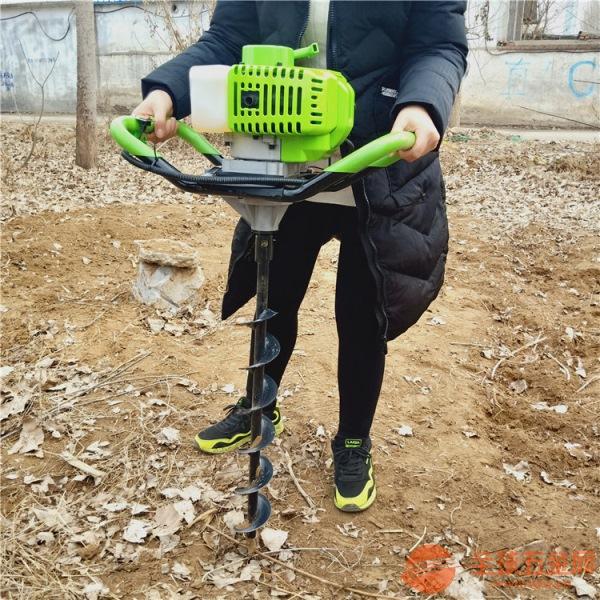 岳陽錳鋼鉆頭挖坑機手推挖坑機價格