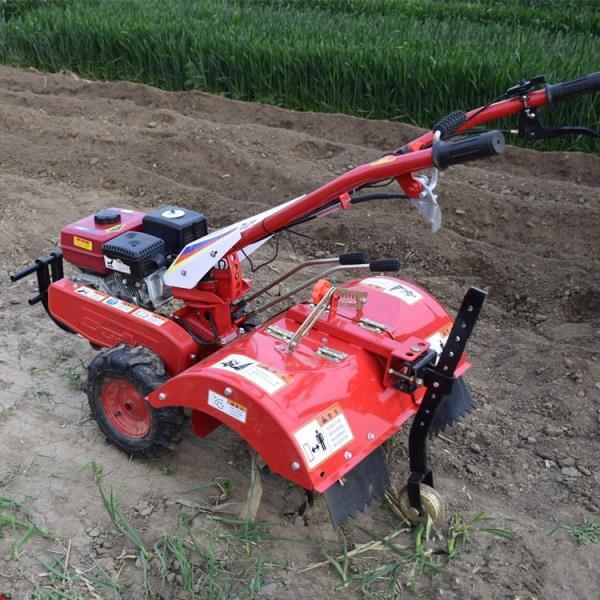 金華農用田園管理機大蔥起壟開溝培土機