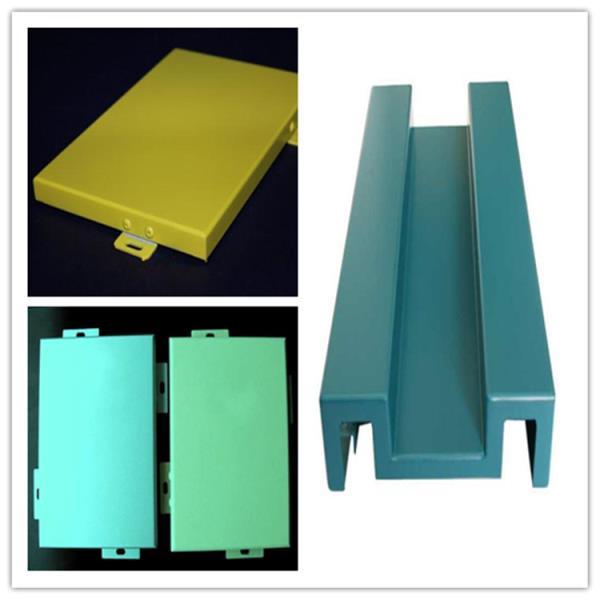 银灰色氟碳门头铝单板报价-厂家