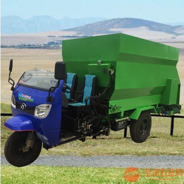 育肥牛羊用撒料车 金凤区高效率的羊舍喂料车
