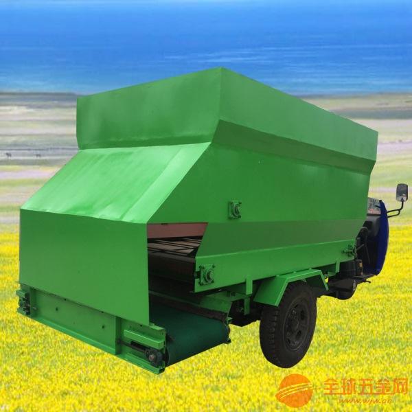 臺州柴油大立方撒料車 育肥牛羊用撒料車