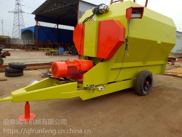 凤台县养殖设备搅草机 5立方卧式搅拌机