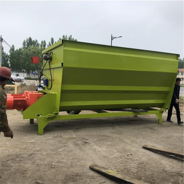 阜平县牦牛饲料混合机 牛场专用TMR搅拌机