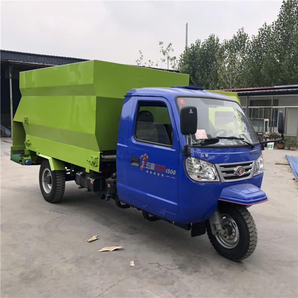 昆明出料均勻的撒料機 柴油大立方撒料車
