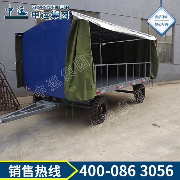 物流用半挂式集装箱牵引平板拖车质量保证