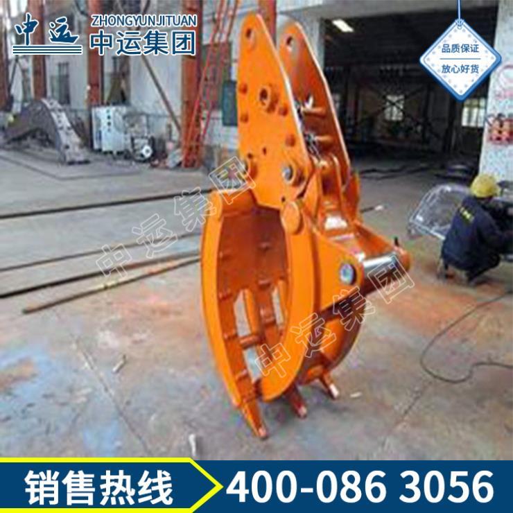 挖掘机抓木器生产商 挖掘机抓木器用途