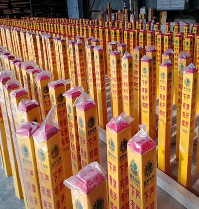 天津玻璃鋼警示樁廠家_玻璃鋼警示樁廠家批發