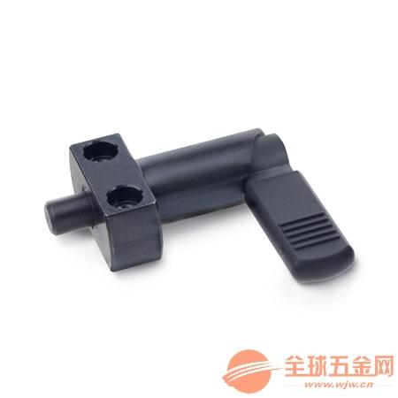 深圳612.2 L型带法兰旋钮柱塞 分镀销 定位销生产厂家