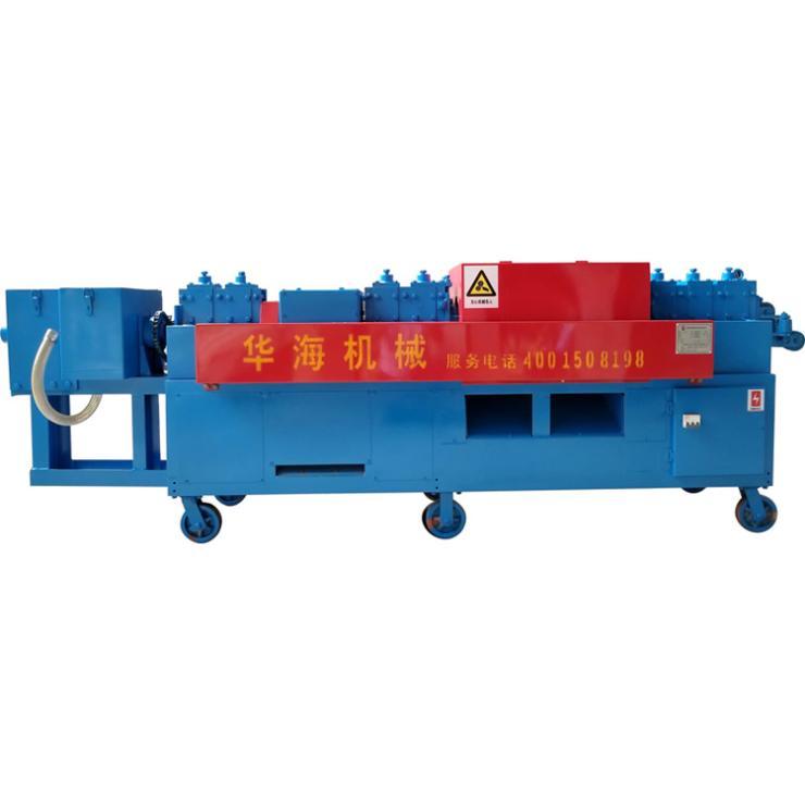 浙江衢州脚手架钢管调直除锈刷漆机工厂直销