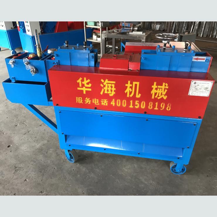 安徽滁州外架钢管调直除锈刷漆机使用方法