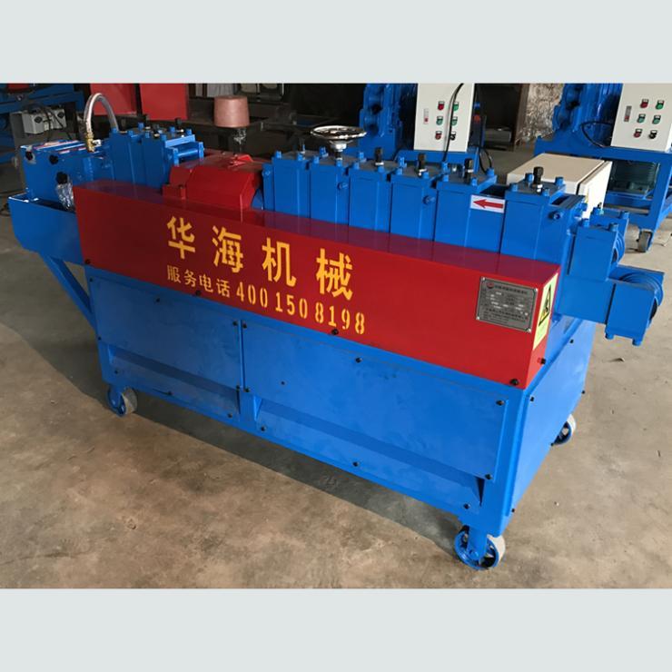 广东东莞油漆机钢管调直除锈刷漆机优质服务