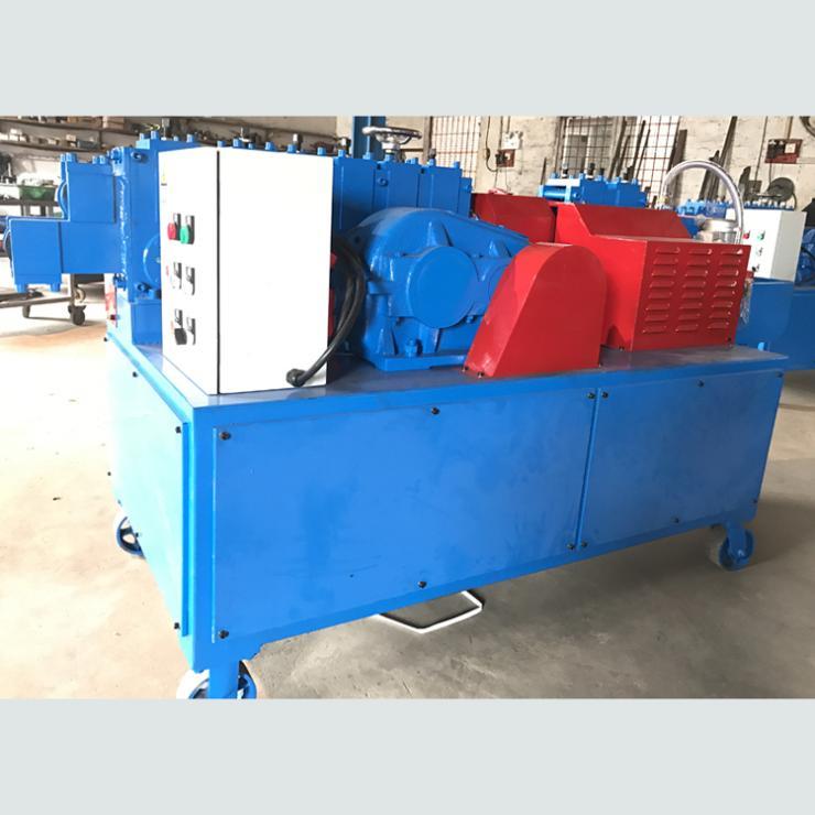 贵州黔东扣件修复机钢管调直除锈刷漆机多合一体机