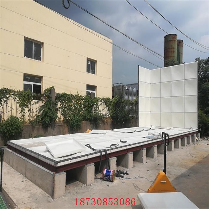 南昌湾里玻璃钢水箱厂家直销图片