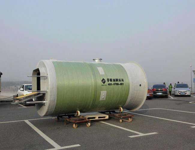 岳陽grp玻璃鋼一體化預制泵站厚度想用戶所想