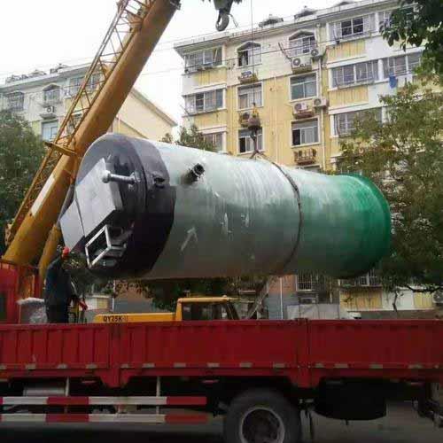 臨夏一體化預制污水提升泵站生產廠家嚴格遵守