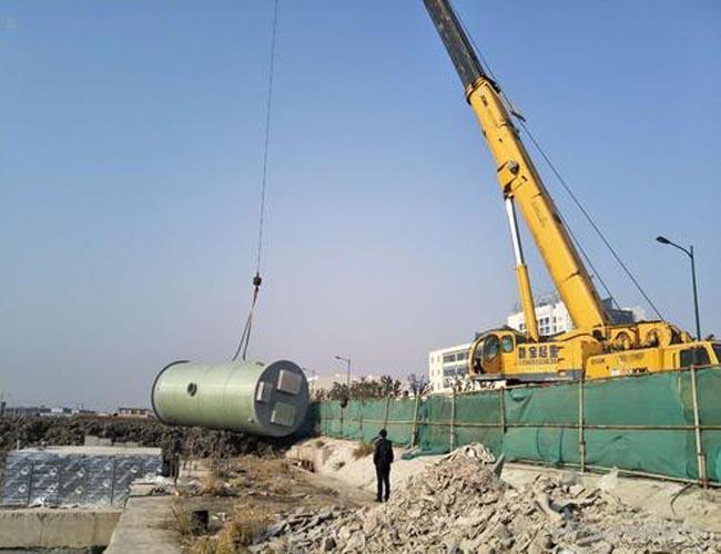 銅川一體化玻璃鋼預制泵站技術標準追求至善