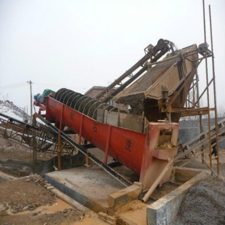 湖北滾筒洗石機 蛟龍洗石機 螺旋洗石機生產廠家