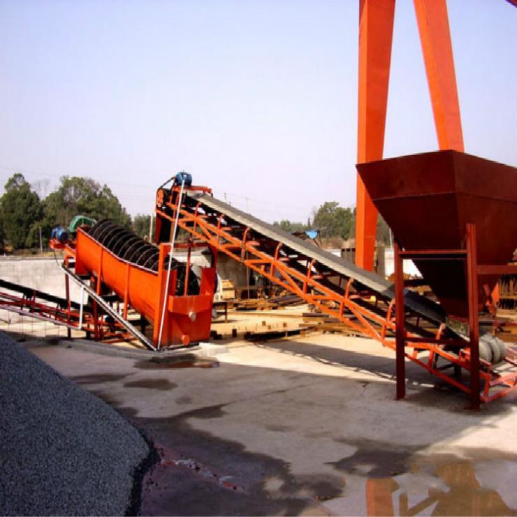 青州市絞龍洗石機 螺旋洗石機 滾筒洗石機哪里有