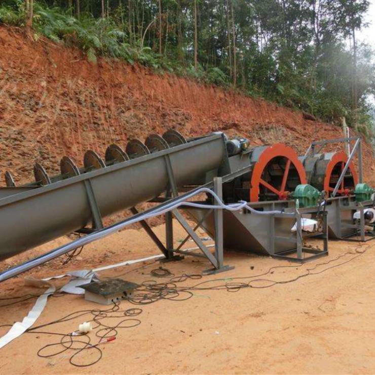 海南洗沙機設備設計加工廠家