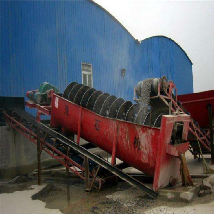 高效滾筒洗石機 滾篩洗石 螺旋洗石機生產廠家