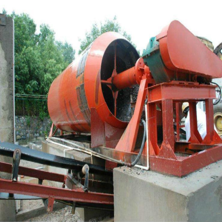 青州市滾筒洗石機 滾篩洗石 螺旋洗石機現貨供應