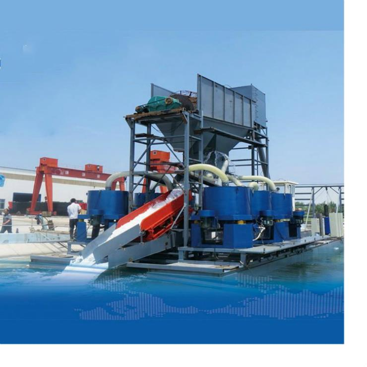 河面淘金設備 東邦采金設備