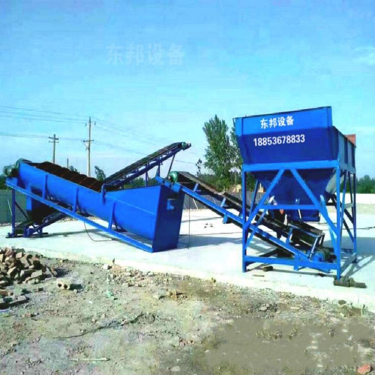 廣東大型洗石機 滾筒 螺旋洗石機現貨供應