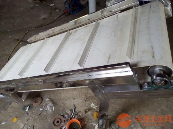 铝型材输送机 电子原件传送机 六九重工 绿色光滑带运