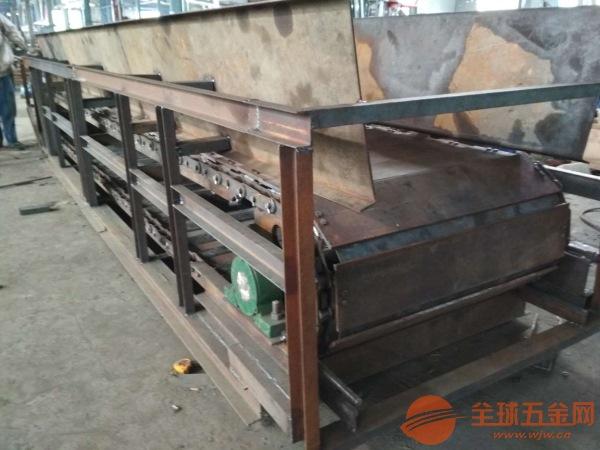 链板输送机链轮图纸批量加工 铁件运输链板输送机调试厂家直销