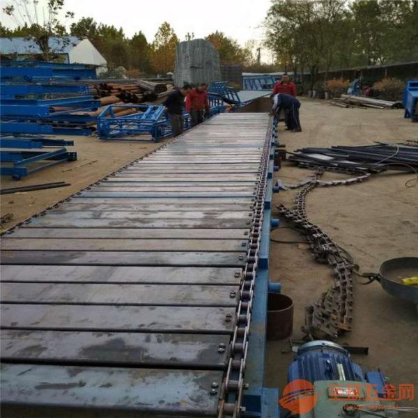 专业定制链板输送机公司直销 镀锌板链板运输机