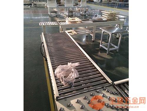 转弯滚筒线 生产水平输送滚筒线 六九重工 动力滚筒线