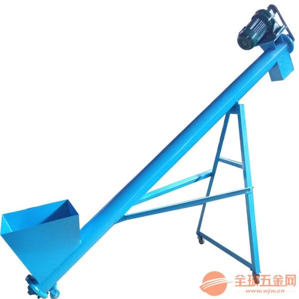 电动螺旋提升机定制移动式 粉末螺旋提升机定制