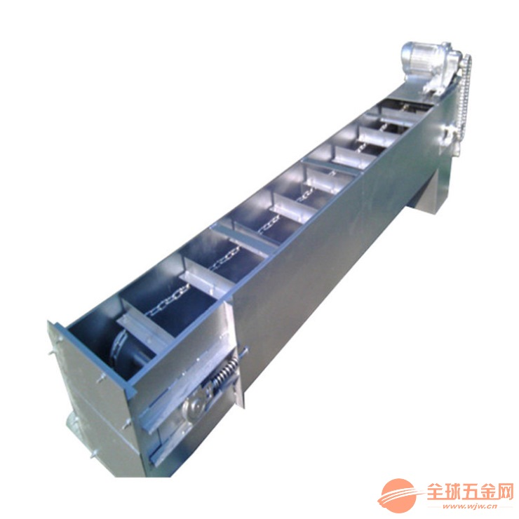 双链条长距离刮板机 小型刮板输送机价格