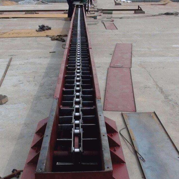 油泥刮板输送机 沙子刮板上料机