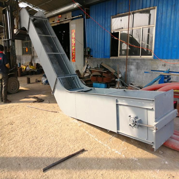 粮食刮板机 刮板输送机的工作原理 六九重工 矿粉链条