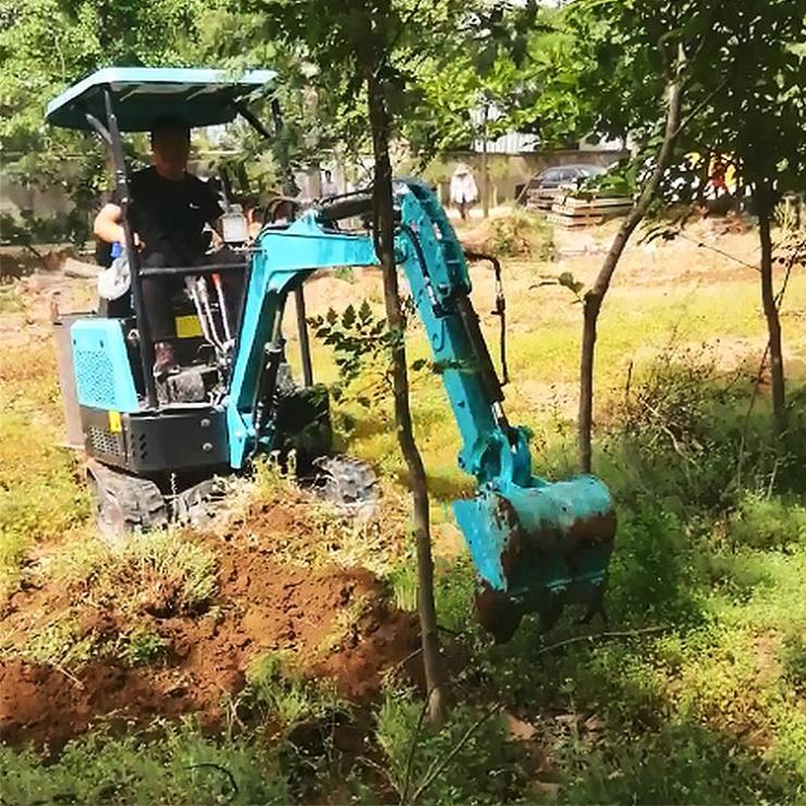 小型化粪池挖沟机/小型挖掘机图片/兴运输送小型化粪池