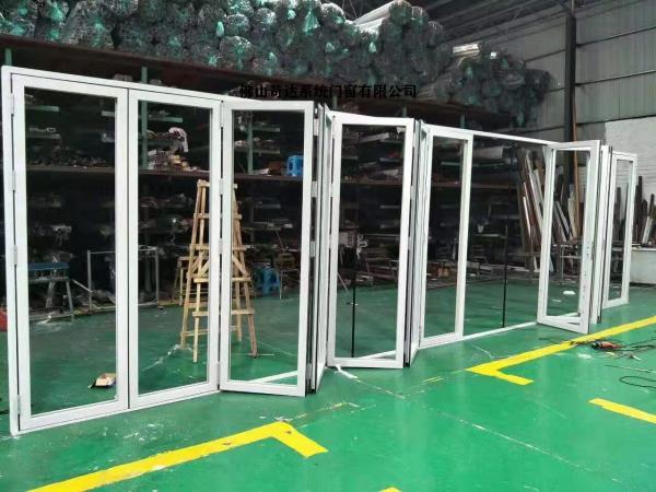 大连铝合金高档门窗厂家,大折叠门,防夹手折叠门